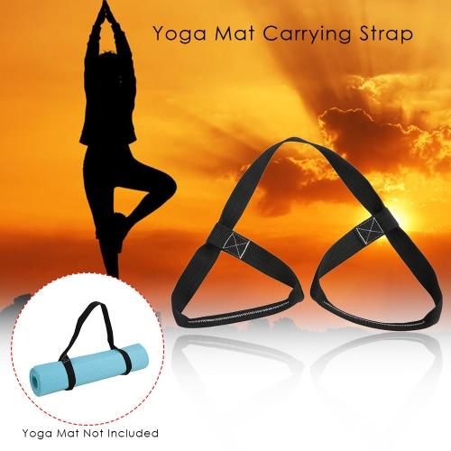 Yoga Mat correa de transporte ajustable de la honda del estiramiento de la correa de la venda