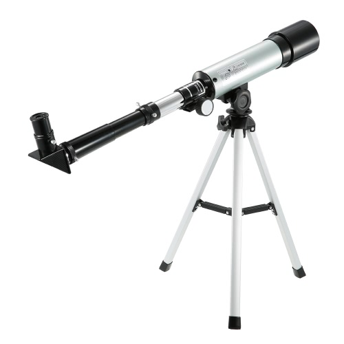 Outdoor HD 90X Zoom Telescope 360x50mm Refractive Space Astronomical Telescope Monocular Travel Spotting Scope with Tripod