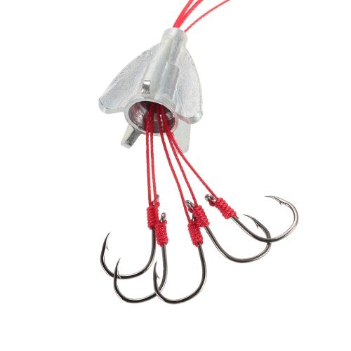 4pcs pesca anti-colgando 6 en 1