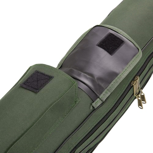 Foldable Multi-purpose Fishing Bags Fishing Rod Bags Zipped Bags Case Fishing Tackle Bags Storage Bags Pouch Holder 150cm