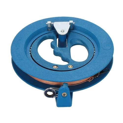 Kite carrete de la devanadera de enrollamiento de bobina ABS adherencia de las ruedas de cadena cometa
