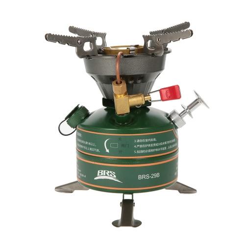 BRS Открытый кемпинга Туризм Портативный Встроенный клапан предварительного подогрева бензина сжигания топлива Бензин Печь Кемпинг Печь Рыбный Пикник топку котла плита