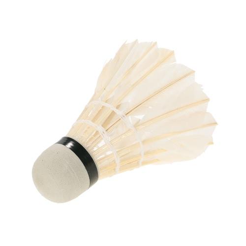 12шт Badmintons Duck / гусиное перо Cock / головка пены Shuttle петухи Воланы Набор бадминтон игры в мяч с хранения Tube
