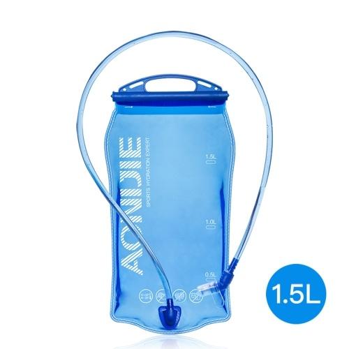 AONIJIE ciclo al aire libre Correr plegable bolsa de agua PEVA Deporte Hidratación de la vejiga para acampa yendo de excursión