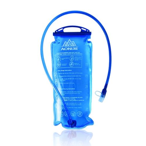 AONIJIE Außen Radfahren Laufen faltbare PEVA Wasserbeutel Sport Hydratation-Blasen für das Klettern