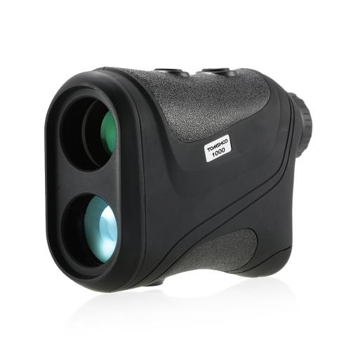 TOMSHOO Outdoor Compact 6X22 1000 m Laser Range Finder Golf Telemetro Caccia Monoculare Telescopio Distance Meter Tester di Velocità