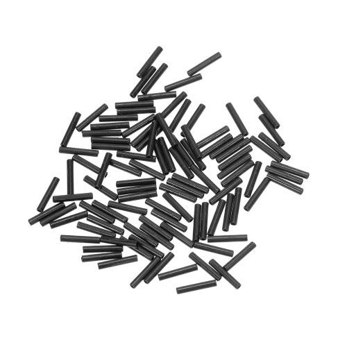 100pcs / lot Fischen-Linie Schlauch-Draht-Klipp-Schlauch-Fischen-Draht-Hülsen-Kupfer-Fass-Crimp-Hülsen-Fischen-Gerät-Zubehör 1.0mm / 1.2mm / 1.4mm