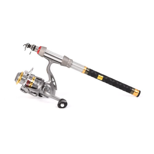 Lixada Telescopic Fishing Rod
