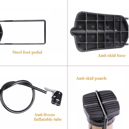 WHEEL UP 160 Psi MTB Bike Air Inflator фото