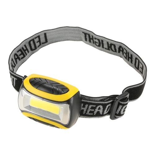 180 Lumens LED Headlight 3 Modes Headlamp Outdoor Head Light Lamp Fishing Camping Hiking Cycling