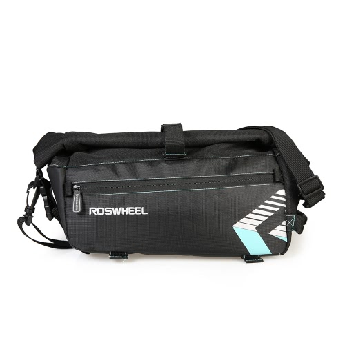 ROSWHEEL Portabicicletas Bag Rack Trunk Altura Ajustable Bike Bagaje Pannier Ciclismo Almacenamiento Bolsa Hombro Strip
