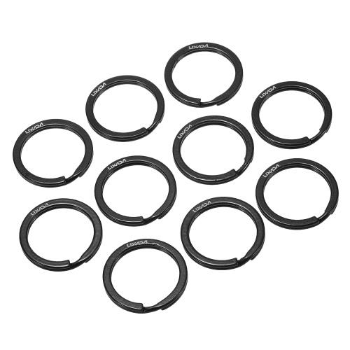 Le catene chiave Split Split del metallo del diametro di 1 pollici / 25mm di Lixada 10 squilla per l'attaccatura delle chiavi dell'automobile domestiche