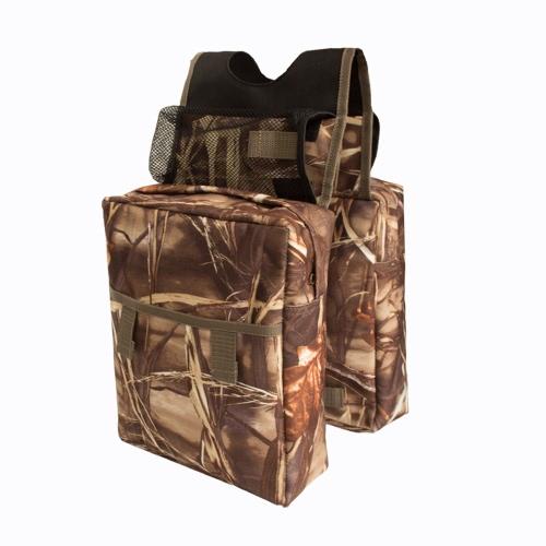 Sacchetto da caccia ATV per Saddlebag Camouflage da caccia alla caccia all'aperto per appassionati di sport
