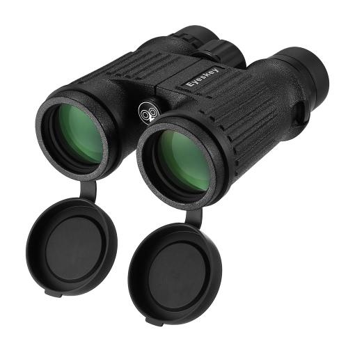 Eyeskey 8x42 BaK4 Prism Binoculares Impermeables Binoculares Fogproof Telescopio Alcance de viaje para la caza al aire libre Camping Excursionismo Conciertos Birdwatching
