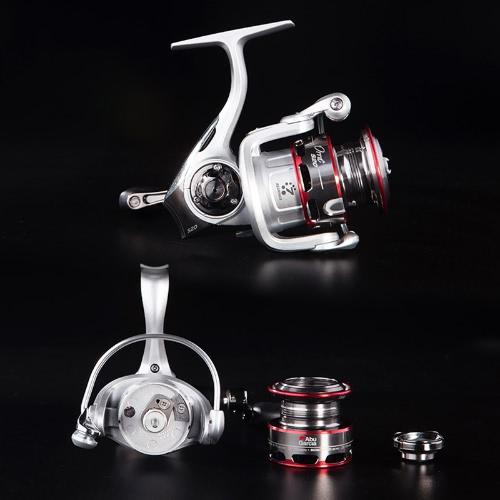 Abu Garcia Orra 2S10 S20 S30 S40 6 + 1BB 5.8: 1 Carbon Drag Spinning Angelrolle mit IM-C6 Körper und Braid-Ready Spule Rad