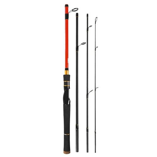 Rod di pesca di fusione di filatura di 1.8m / 1.98m / 2.1m