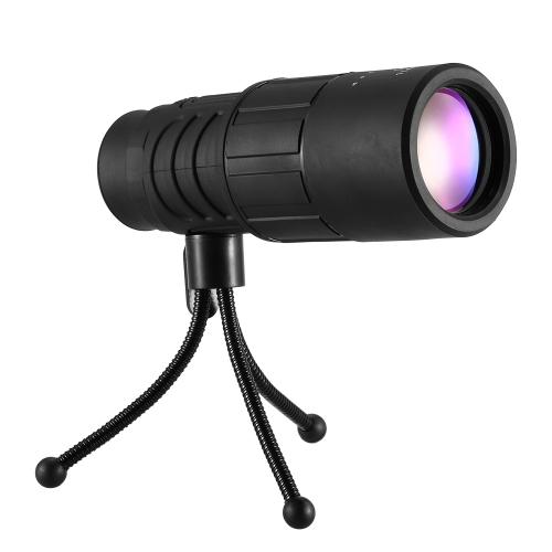 10X40 Оптический монокулярный двухфокусный телескоп Открытый монокулярный прицел для комплекта выживания для путешествий
