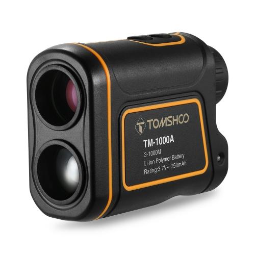 TOMSHOO 1000M 7x24mm Laser-Entfernungsmesser