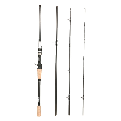 4 Secciones Spinning Casting Fishing Rod High 99% Carbon Roces Fishing Pole