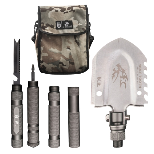 HX OUTDOORS GBC-17 Klapp Schneeschaufel Multitool Entrenching Tool