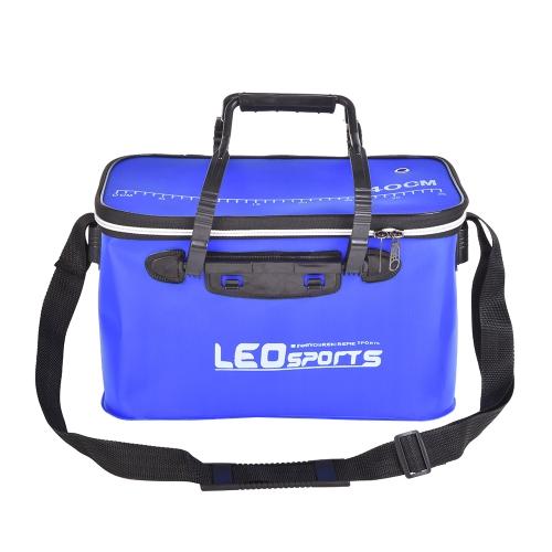 40cm / 45cm Outdoor pieghevole EVA secchio borsa da pesca Custodia portatile campeggio Escursionismo secchio con maniglia