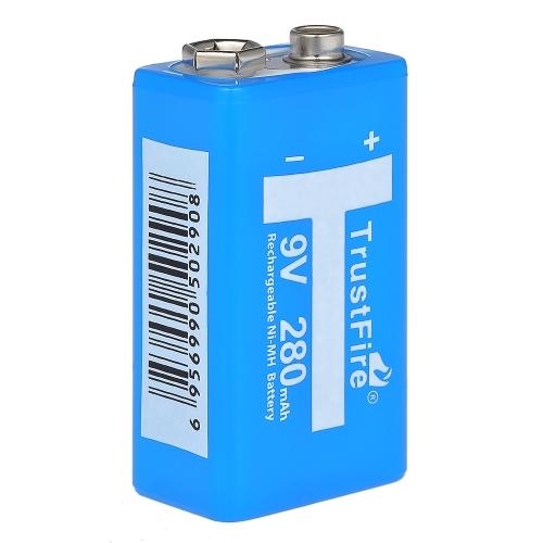 Trustfire 9V Li-Ion-Akkus mit hohem Volumen