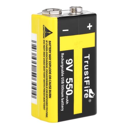 Аккумуляторные батареи TrustFire 9V Li-ion с высоким объемом