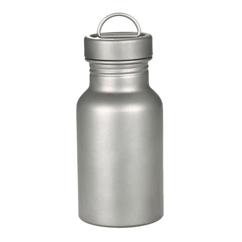 Bottiglia d'acqua di titanio della bottiglia della bocca larga per il picnic di escursione di campeggio all'aperto