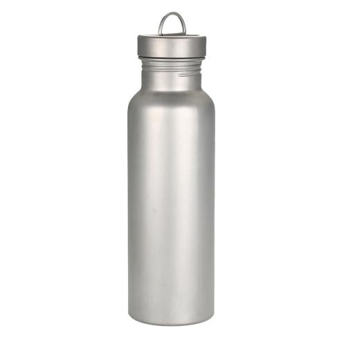 Широкая бутылка бутылки с титановой бутылкой для рта для пикника на открытом воздухе