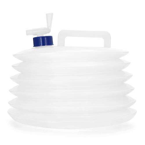 Cubeta de agua potable plegable Bolsa de almacenamiento de agua plegable Portador de agua portátil