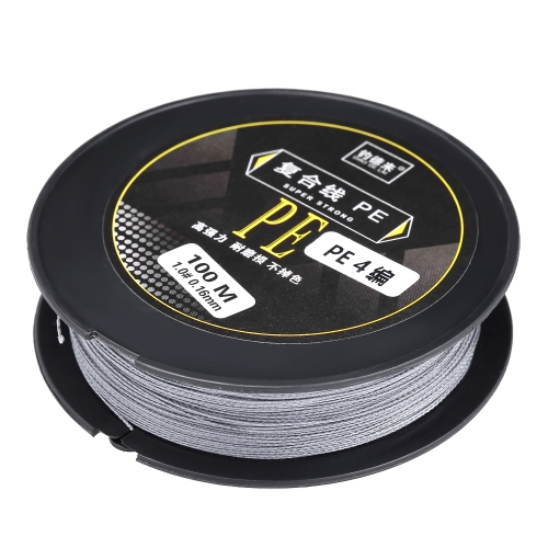 100M Fishing Line Strong Abrasion 4 Strands Braided Fishing Line PE Fishing Line Image