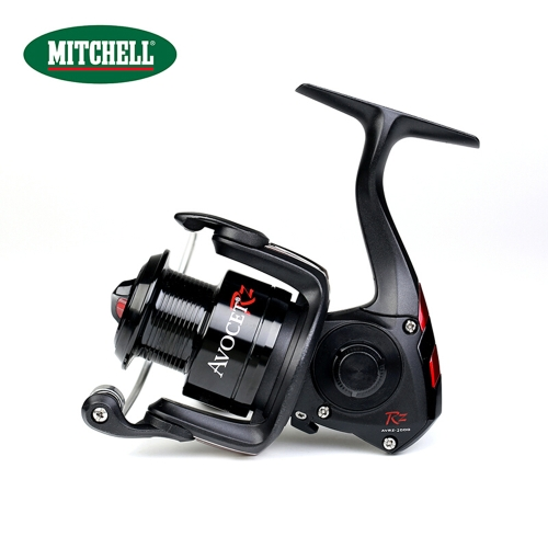 Mulinello da pesca Full Smooth Spinning MITCHELL 4 + 1BB Full Metal Body Spool Bobina intercambiabile destra / sinistra Spinning Fishing Reel