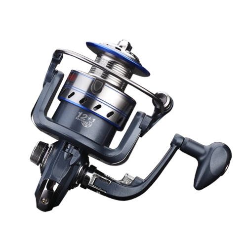 12+1 BB Fishing Reel Left-Right Interchangeable Collapsible Handle Fishing Spinning Reel Ultra Light