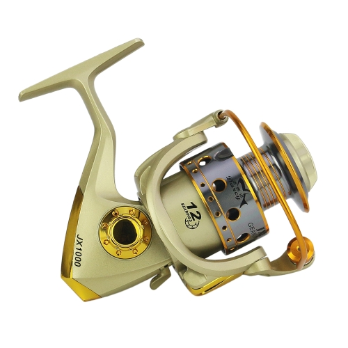 12 BB Fishing Reel Left-Right Interchangeable Collapsible Handle Fishing Spinning Reel Ultra Light S