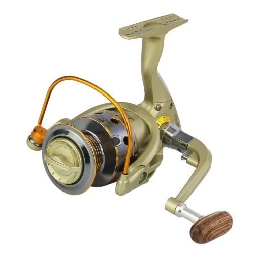 12 Bobina da pesca BB Sinistra / Destra Maniglia pieghevole intercambiabile Mulinello da pesca Mulinello ultra leggero