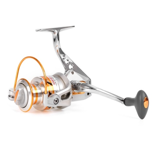 10+1 BB Fishing Reel Left/Right Interchangeable Collapsible Handle Fishing Spinning Reel Ultra Light Smooth Spinning Reel thumbnail