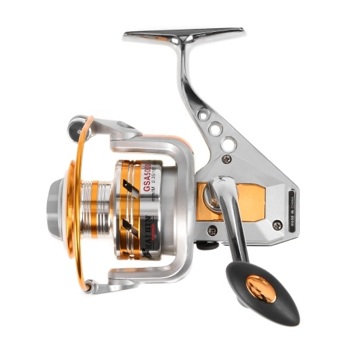 10+1 BB Fishing Reel Left-Right Interchangeable Collapsible Handle Fishing Spinning Reel Ultra Light