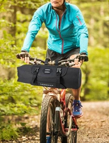 7L Waterproof Adjustable Capacity Bike Bicycle Cycling Handlebar Bag Dry Pack