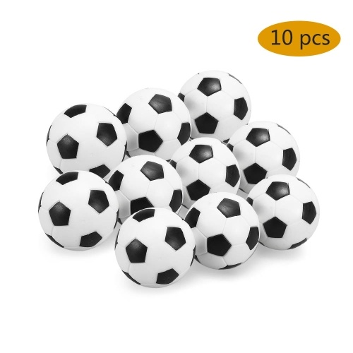 4 Stücke / 10 Stücke Indoor Tischfußbälle Ersatz 32mm Mini Fußbälle Tischfußball Tischfußball Für Kinder / Erwachsene