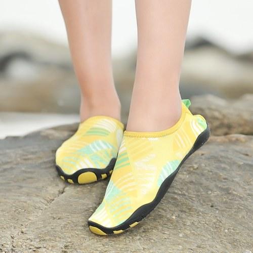 Мужчины Мужчины Мужчины Многоцелевой Открытый Спорт Любители Пляж Плавание Водная обувь Breathable Нескользящая Быстро сушащая босиком болотная обувь фото