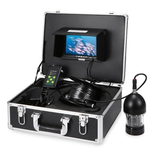 1000TVL Under Fishing Camera Portable Waterproof 36 LEDs 360 Degree Rotating Camera