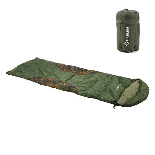 Saco de dormir con cremallera de aislamiento térmico