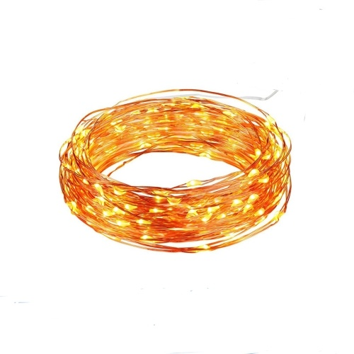 Solar Power LED Copper Wire Decorative String Lights