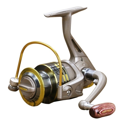 12BB Spinning Lightweight Fishing Reel With Smooth Metal Spool