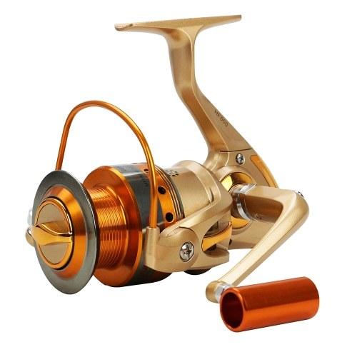 Mulinello da pesca interamente in metallo da 12BB