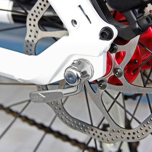 Bike Front Wheel Riser Block Quick Release Rear Wheel Skewer Chain Brush for Indoor Bike Trainer