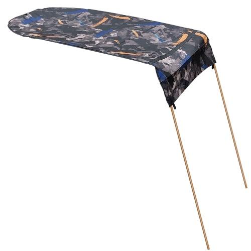 Caiaque Barco Canoa Sun Shade Canopy com bolsa de armazenamento para uma pessoa