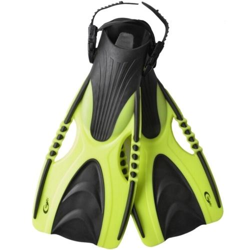 Adjustable Snorkel Swim Fins Neoprene Swimming Flipper Anti-slip Diving Fins