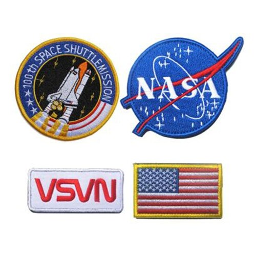 Space Agency Space Shuttle Embroidered Patch