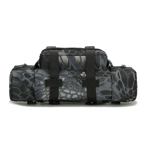 Многофункциональная камуфляжная тактическая сумка через плечо Сумка через плечо Пояса на открытом воздухе Спортивные походы Велоспорт Рыбалка фото